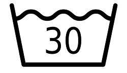 30 Grad Wäsche Symbol