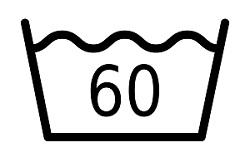 60 Grad Wäsche Symbol