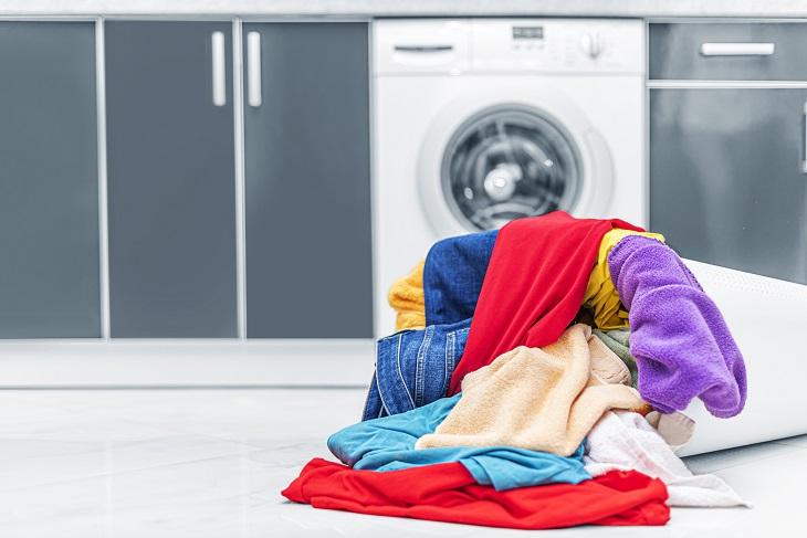 Buntwäsche waschen