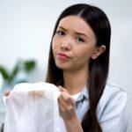 Effektiv Flecken entfernen aus Textilien