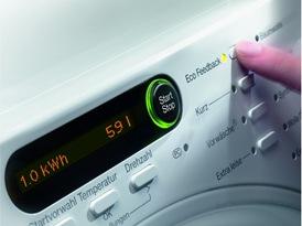 Miele Waschmaschinen bieten die Eco-Feedback-Funktion Foto: Miele