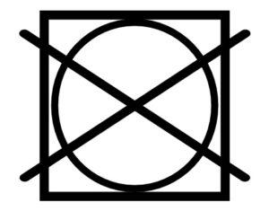 Pflegesymbol Nicht im Wäschetrockner trocknen