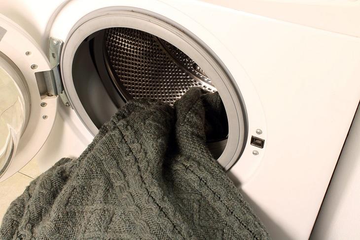 Pullover waschen