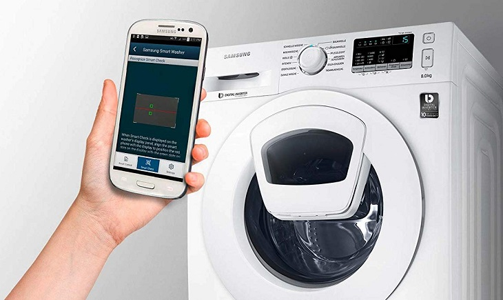 Samsung WW90K4420YW / EG AddWash Waschmaschine Smart Check