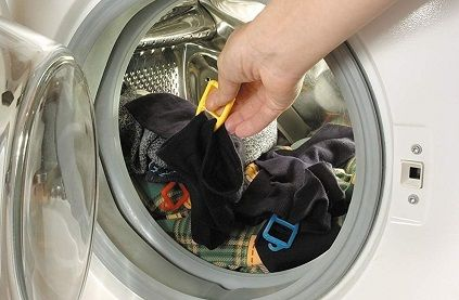 Sockenhalter und Sockenklammern für die Waschmaschine