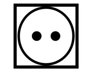 Pflegesymbol normale Trocknung
