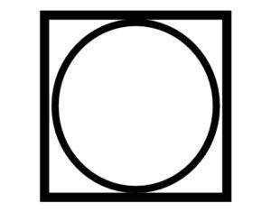 Pflegesymbol Trommeltrocknen