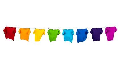 Welche Wäsche zusammen waschen? Wäsche sortieren