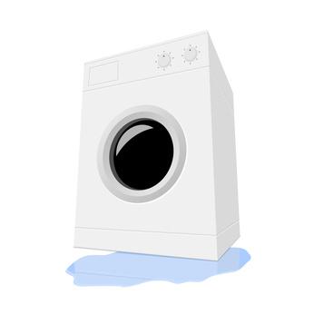 Wieso kann eine Waschmaschine ab und zu auslaufen?