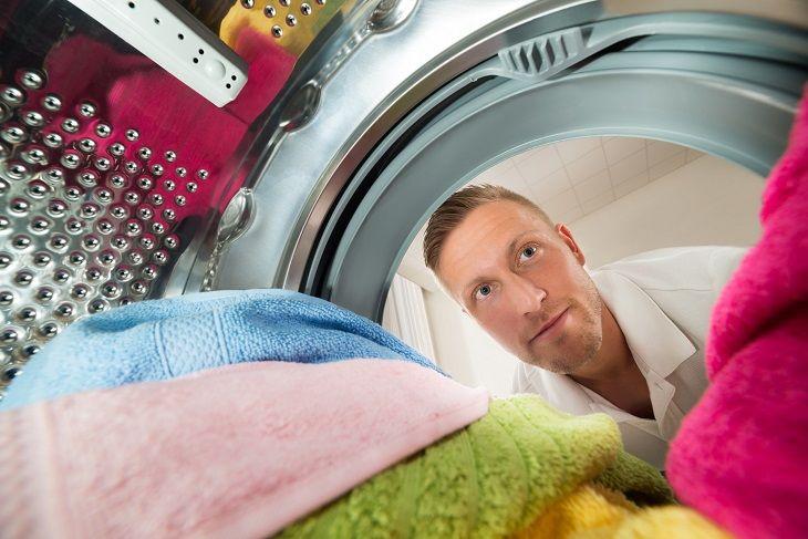 Waschmaschine mit großer Trommel