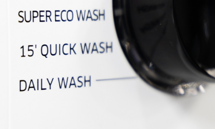 Waschmaschine mit Kurzprogramm