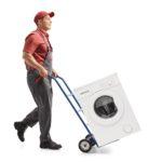 Wie sollte man eine Waschmaschine transportieren?