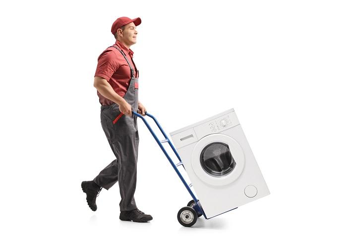 Waschmaschine transportieren
