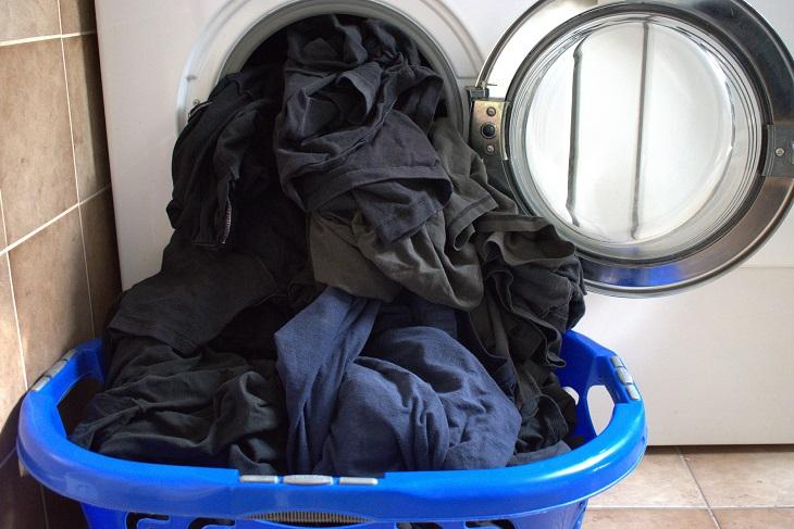 Waschmaschine überladen