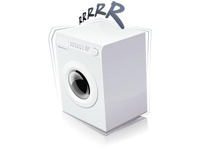 Waschmaschine wackelt